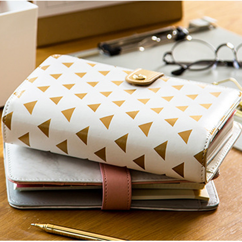 New cute office school personal time agenda planner organizer notebook set stationery,fine diary binder weekly planner gift wrap new cute leather spiral binder diary weekly planner notebook stationery candy fine person time agenda planner organizer gift a6
