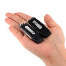 محمول صغير صغير الإملاء فلاش حملة الرقمية USB قلم تسجيل صوت WAV مسجل الصوت