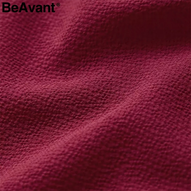 BeAvant Elegant ruffle v-neck plus size women dresses 2019 Long flare sleeve summer dresses Causal short ladies dress vestidos 5