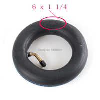 New 6 x 1 1/4 Inner Tube for Electric & gas Scooter 6x1.25 inner tube for Electric Scooter EasyRider FX1 FX2 Giggle Wheelchair