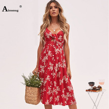 Solid color stripes Backless Knot Detail Fit And Flare Cami Dress Women Sleeveless Casual Summer Autumn Spaghetti Strap Dresses недорого