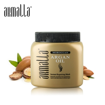 New Products Best Selling Armalla Professional Moroccan Argan Oil 500ml Hair Mask Moisturizing Damaged Hair Treatment Product arganmidas 10ml argan oil preferential suit 5pcs professional great moroccan nut moisturizing damaged hair treatment products