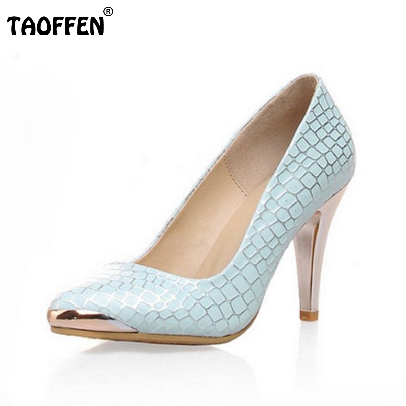 women stiletto high heel shoes lady pointed toe quality footwear  platform fashion heeled pumps heels shoes size 34-40 P17261 plus size 33 42 pointed toe genuine leather buckle mixed colors fashion casual high heel shoes platform high quality women pumps