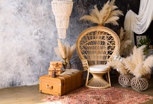 Laeacco Room Interior Armchair Flowers Old Wall Photography Background Customized Photographic Backdrops For Photo Studio 100% hand painted pro dyed muslin backdrops for photography studio customized photographic background wedding backdrops 10x10ft
