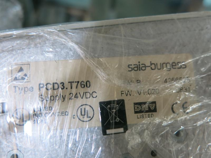 SAIA-BURGESS PCD3.T760 burgess melvin junk