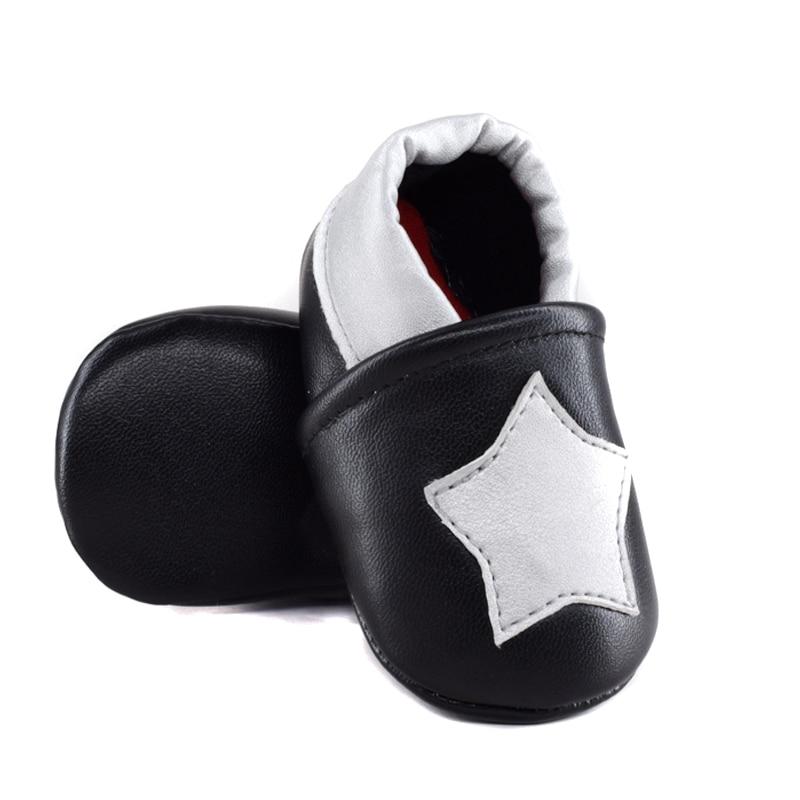 543a03ad3d0d6 2016 New star pu en cuir Bébé mocassins Premier Marcheur Fond Mou  antidérapant Bébé Chaussures Enfants En Cuir infantile Prewalkers bottes