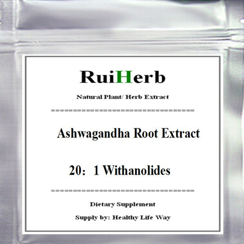 Ashwagandha Root Extract, 20:1 Withanolides Free shipping 150gram, 300gram, 500gram available все цены