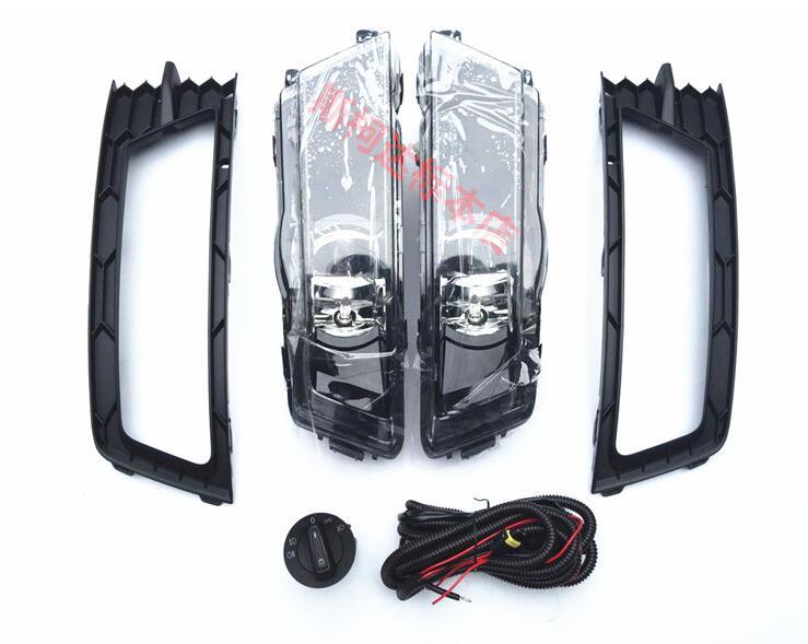SMK Противотуманные фары лампы, 2 шт. решетки, кабельный жгут, фары для автомобиля переключатель полный набор skoda rapid