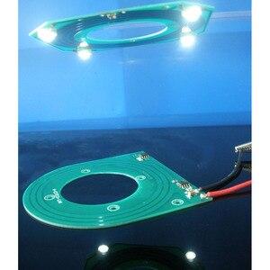 Image 2 - 5 шт./лот PCB модуль беспроводного питания, регулируемый модуль беспроводной передачи, чип 5 в 12 В 14 в, большой выход напряжения