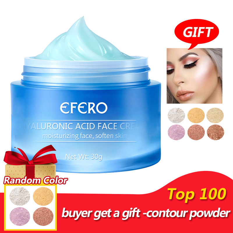 EFERO Moisturizing Hyaluronic Acid Face Cream Vitamine E Essence Whitening Repair Day Cream Anti-Aging Dry Hydration Skin Care(China)