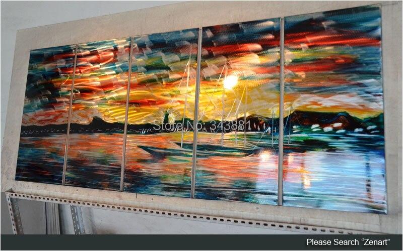 Shining 3D Metal Wall Art 100% Handmade Painting Sculpture Indoor ...