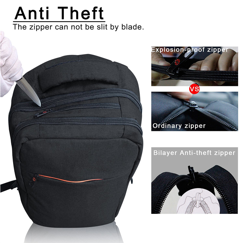 2019 Tigernu Fashion Anti theft Backpack Men 15.6