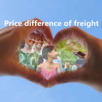 Free shipping Price difference of Freight