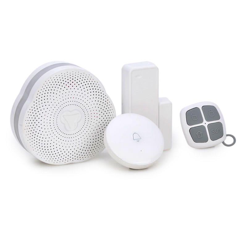 High Quality Wireless Smart Bluetooth Doorbell APP Control Door Sensor Night Light 433MHz Alarm System for Home Security System forecum 433mhz wireless magnetic door window sensor alarm detector for rolling door and roller shutter home burglar alarm system