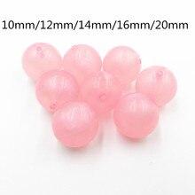 Новые! 10 мм/12 мм/14 мм/16 мм/20 мм Розовый Прозрачный Иллюзия Блеск Бусы