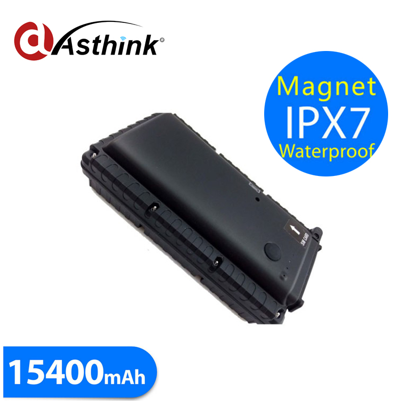 T15400SE Car GPS Tracker 15400mAh Big Battery Powerful Magnet IPX7 Waterproof design Vibration Sensor SOS Help