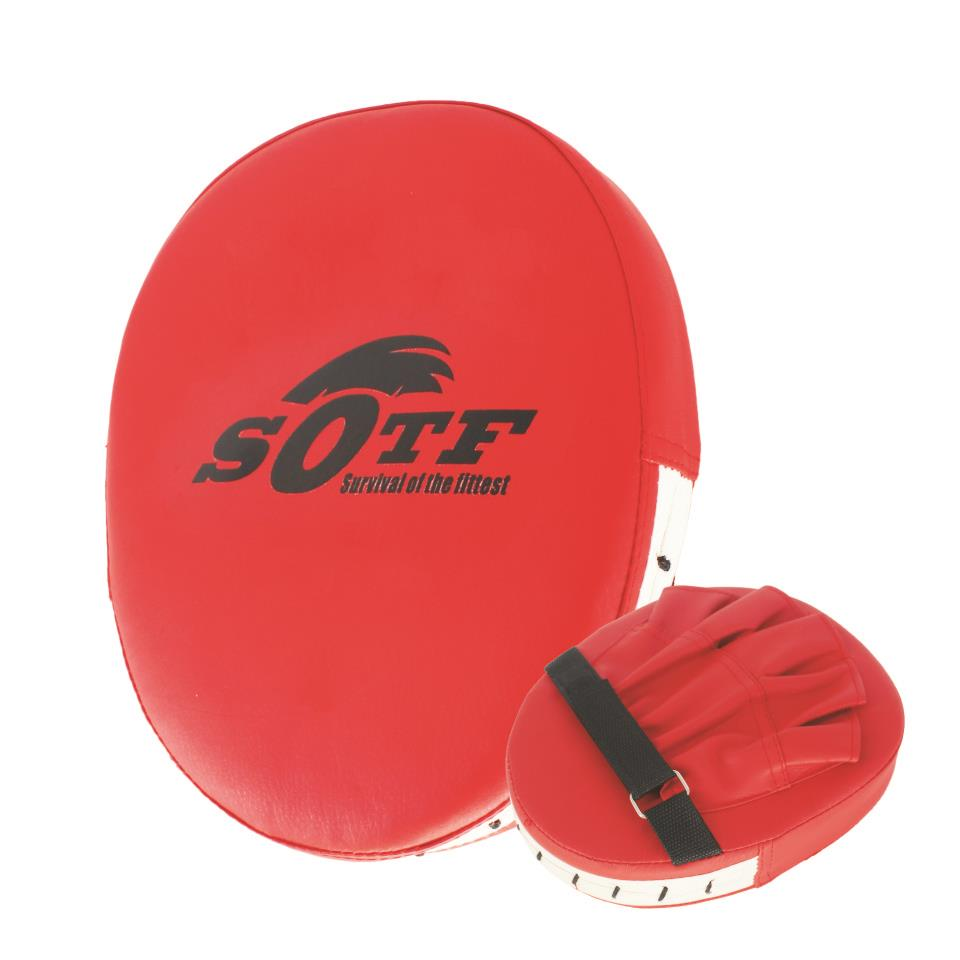 SOTF Red Fighting Fight Sport Fitness PU Hand Target boxing gloves mma Tiger Muay Thai b ...