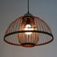 Открытый Подвесные Светильники ресторан спальня лампы бамбука фонарь новый китайский ресторан номера подвесные светильники lu728316