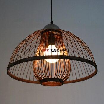 Lampes suspendues lampe de Restaurant lampes de chambre lanterne en bambou nouvelles chambres de restaurant chinois lampes suspendues LU728316