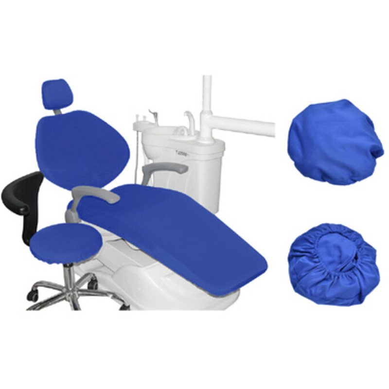1 Set Dental PU Leather Unit Dental Chair Seat Cover Chair Cover Elastic Waterproof Protective Case Protector Dentist Equipment mif анальная пробка серебристая с прозрачным кристаллом в форме сердца