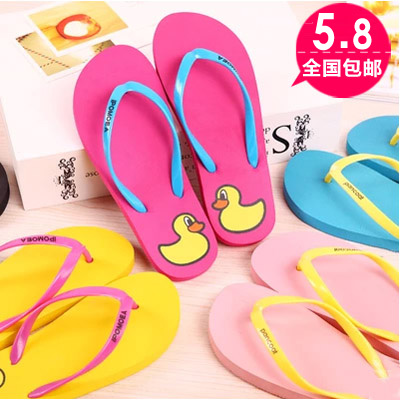 2015 Hot Summer Flip Flops shoes women,US Fashion Soft Leisure Sandals, Beach Slipper,indoor & outdoor Sandals flip-flops yierfa fashion cork slipper sandals 2017 new summer women patchwork beach slides double buckle flip flops shoe white purple red