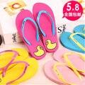 2015 Hot Summer Flip Flops zapatos de las mujeres, Moda Soft Ocio Sandalias EE. UU., Deslizador de la playa, de interior y al aire libre Sandalias flip-flops