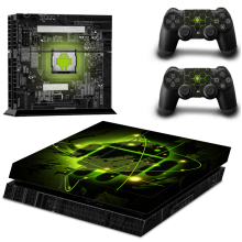 Custom Circuit PS4 Skin Sticker