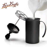 200/300cc Double Mesh Milk Frother Milk Foamer Milk Creamer Handheld Coffee Milk Foam Cappuccino Accessories