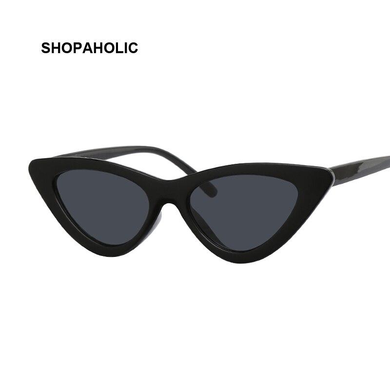 Vintage Mirror Cat Eye Sunglasses Women Fashion Brand Designer Luxury Small Cateye Sun Glasses For Female Oculos De Sol