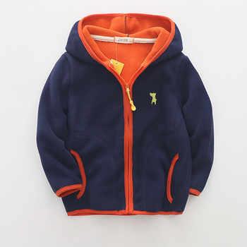 New 2019 spring autumn children kids sweatshirts hoodies big boys girls polar fleece hoodies sweatshirts soft warm - Category 🛒 Mother & Kids