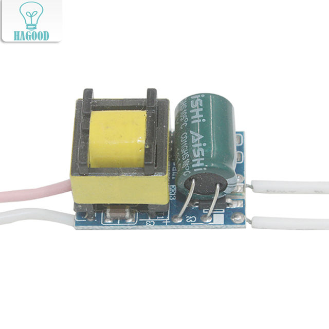 4-5 Вт светодио дный драйвер Питание адаптер DC12-18V AC85-265 В постоянный ток 300mA трансформатор для 5050/3528 Светодиодные ленты