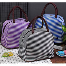 Good Quality 2018 Travel Food Organizer Cooler Bags Portable Insulated Children Outside Drink Fruit Cooler Handbags