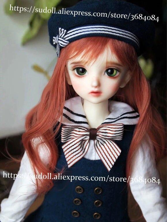 SuDoll 1/4 BJD SD Doll Girls Resin Bare Unpainted Body Doll + Eyes Cute High Quality ToysSuDoll 1/4 BJD SD Doll Girls Resin Bare Unpainted Body Doll + Eyes Cute High Quality Toys