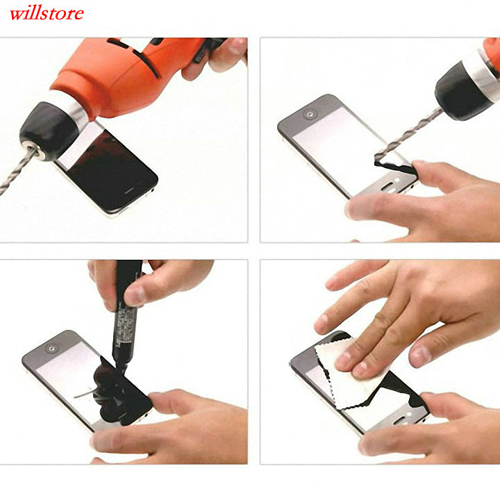 Härdat glasskärmskydd BAG för Nokia Lumia 435 520 530 532 535 540 - Reservdelar och tillbehör för mobiltelefoner - Foto 5