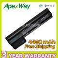 Apexway 4400 mah bateria para hp mini110-3000 cq10-400 series cq10-400ej hstnn-cb1u hstnn-e04c hstnn-db1t wq001aa 607762-001