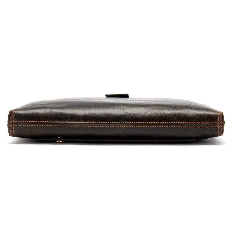 Leather man 39 s purse leather business man 39 s handbag cell phone pocket money in Coin Purses from Luggage amp Bags