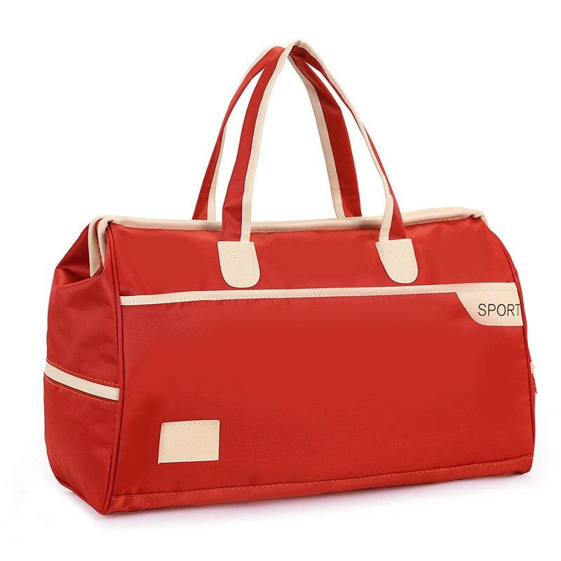 857973e2c61f Женские дорожные сумки 2019 модные большие емкости непромокаемые ручной  багаж вещевой мешок мужские повседневные дорожные сумки