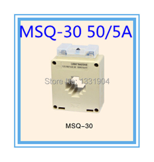 Single Phase, window type MSQ 30 50/5A small current ...