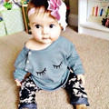 Toddler Kids Infant Christams Gift Baby Girls Autumn Outfit Clothes T-shirt Tops Pants 2PCS Set
