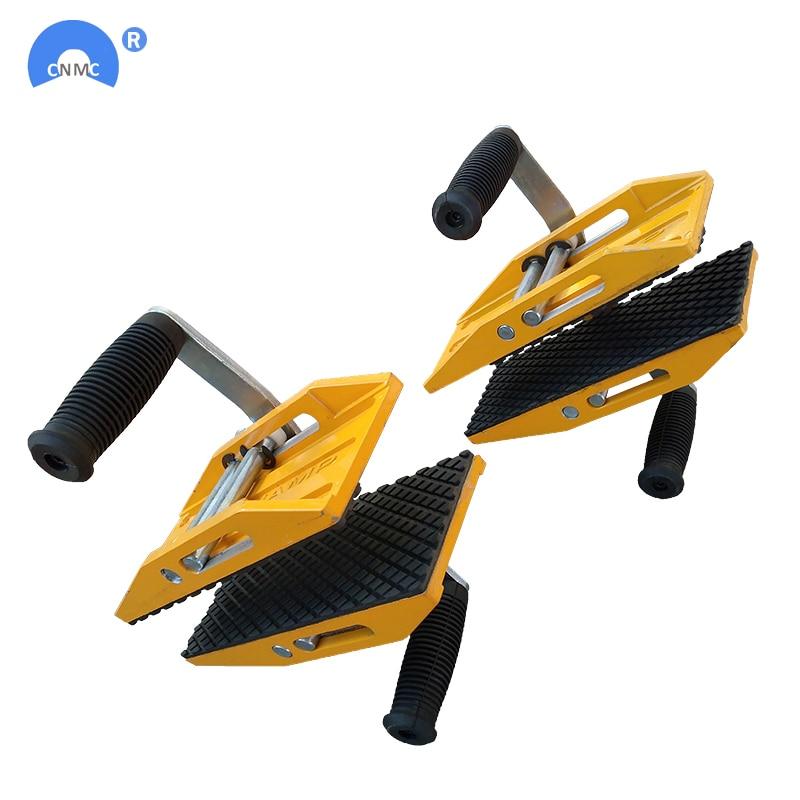 2sets /lot magic clamp stone lifting carry slab granite scissor clamp handling equipment