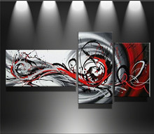 100 Hand painted Modern Wall Art Abstract Handmade Oil Painting On Canvas Wall Art Picture 3