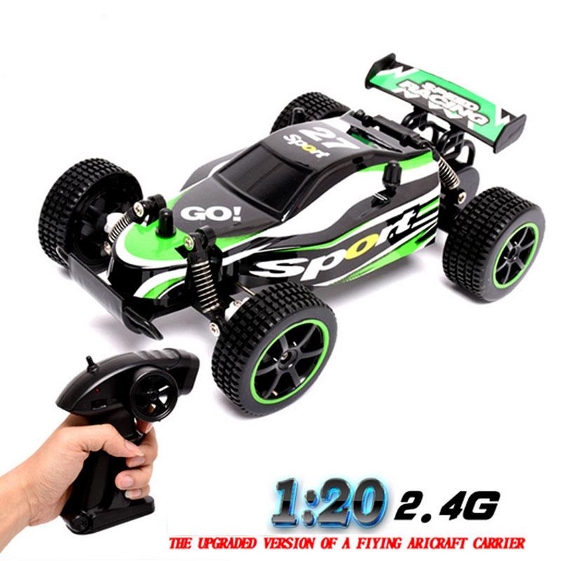 Gratis shipping1: 20 RC coche eléctrico Juguetes Control remoto coche 2.4g impulsión del eje de alta velocidad control remoto drift coche incluye palo