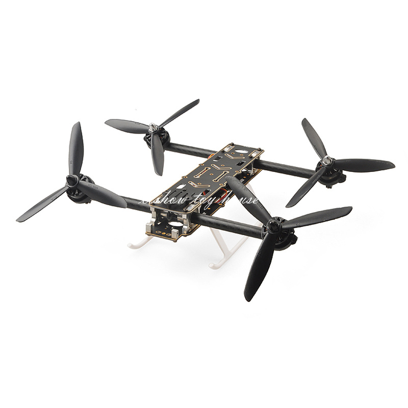 RC HMF SL300 Mini DIY Drone Quadcopter Frame Kit Variable Thrust Motor Vector Racing FPV  with Housing Case turbine