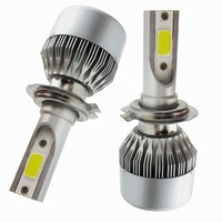 H7 Led Headlamp 12V Beam Auto Car Led Headlight Bulb Kit White 6000K 9200LM Automobiles Lada