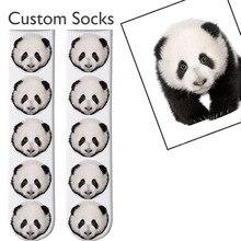 3D Printed Personalized Custom Socks Women Long Socks Custom