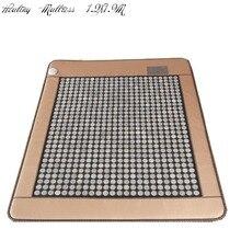 Турмалин матрас As Seen On TV обогреваемый отрицательных ионов матрас Корея Нефрита Матрас Отопление сна подушки 1.2×1.9 м