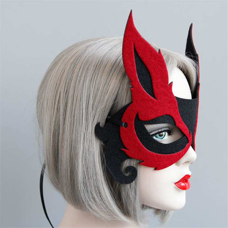 Sexy Red Fox Mask 2