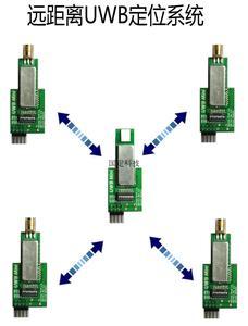 MAX1000 UWB gama de alta potência placa de desenvolvimento é compatível com DWM1000 de longa distância de 250 metros