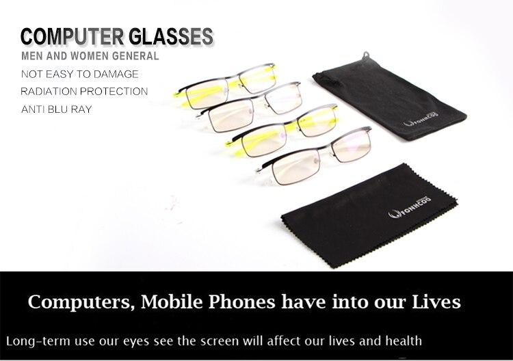 Brillenrahmen Fonhcoo Stilvolle Tr Gläser Rahmen Frauen Runde Optische Computer Gaming Gläser Anti Blau Licht Blockieren Gläser Anti Ermüdung Der Augen Damenbrillen