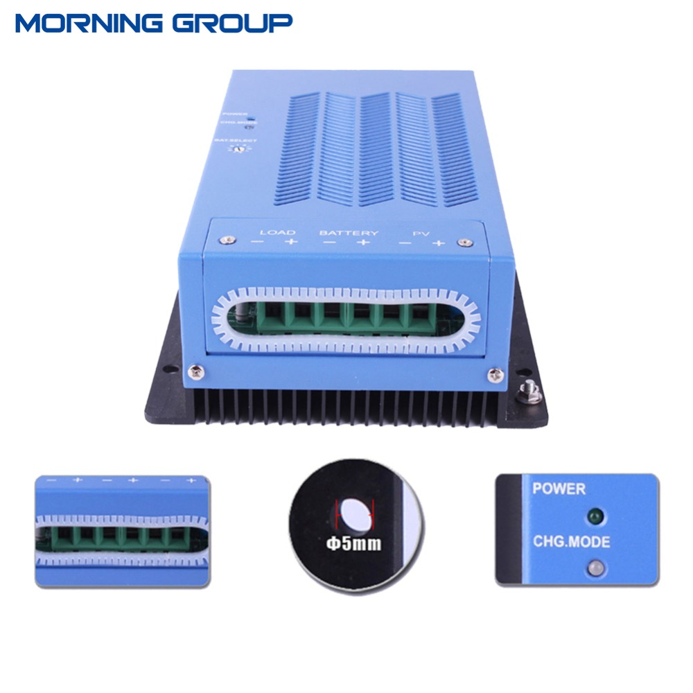 High quality MPPT1240 MPPT solar charge controller 12/24V auto 40A